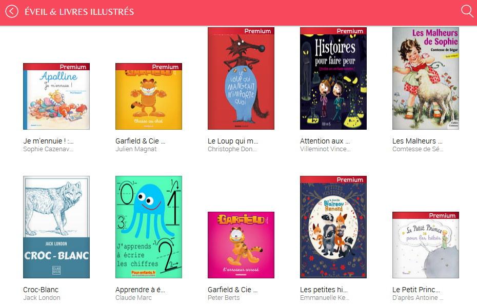 Youboox : des livres numériques pour les petits