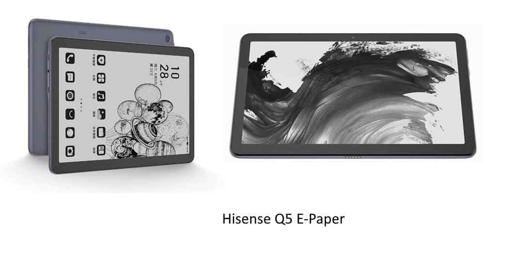 Hisense Q5 E-Paper