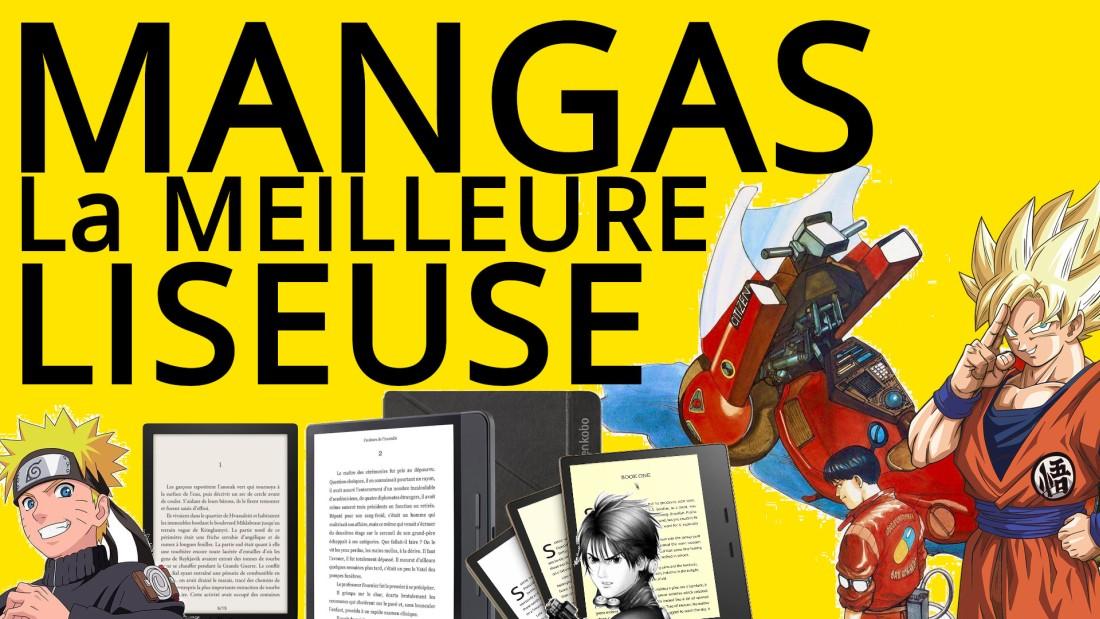 choisir la meilleure liseuse pour les mangas
