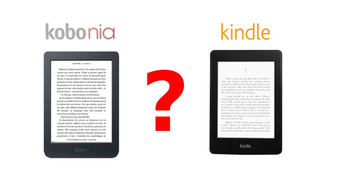 liseuse kobo nia vs kindle
