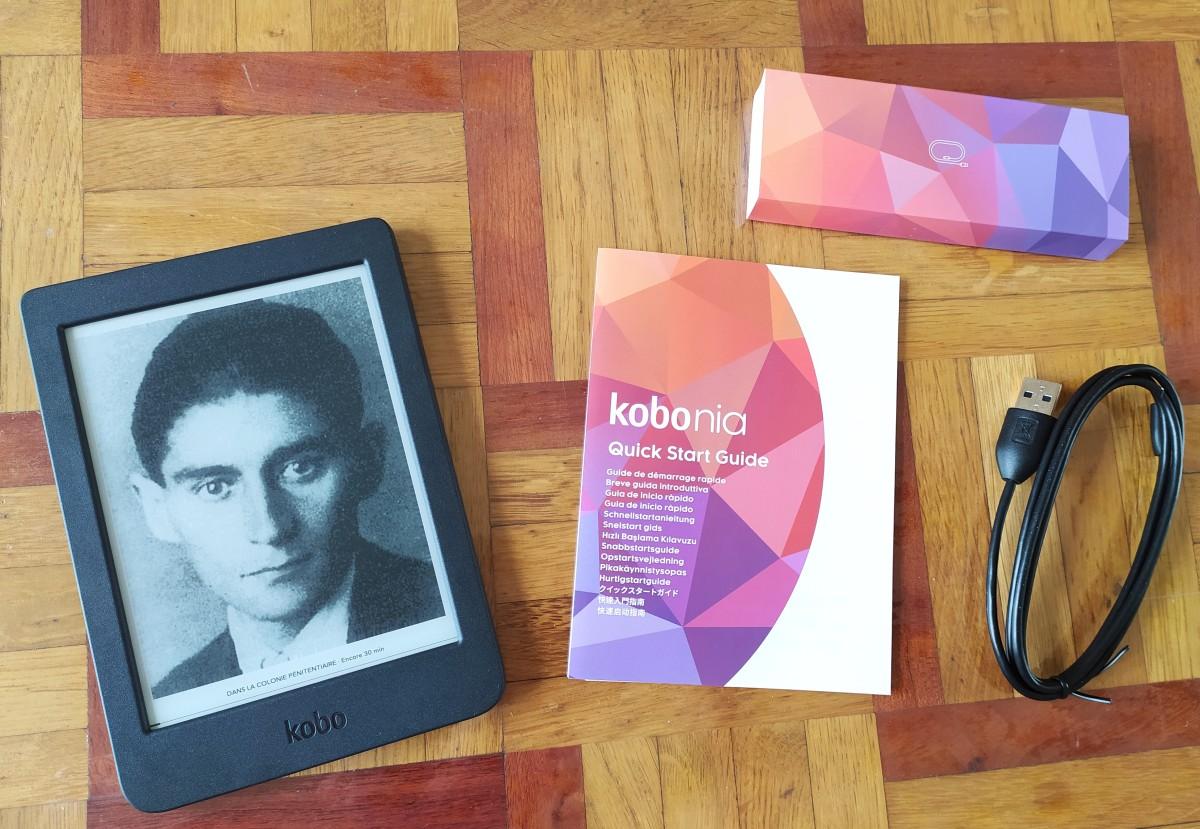 liseuse kobo nia accessoires et boîte