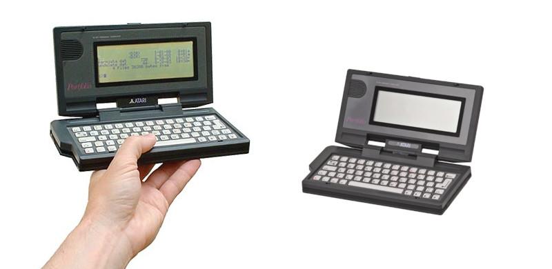 Ordinateur portable Atari Portfolio