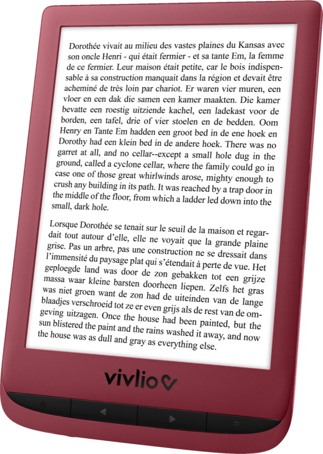 vivlio touch lux 5