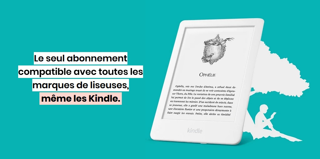 boobox kindle liseuse kobo bookeen vivlio