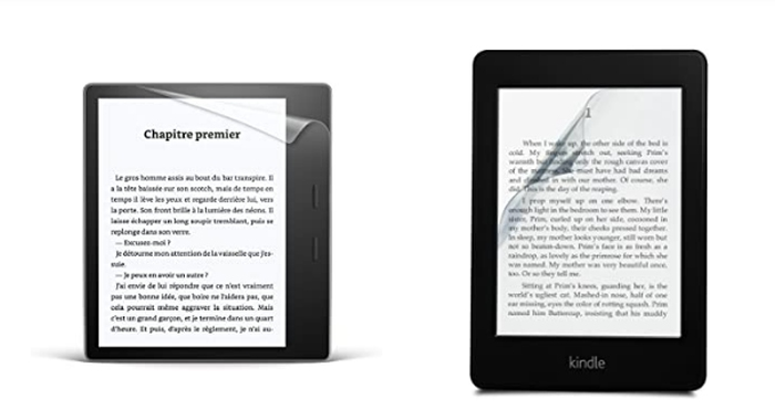 film de protection kindle