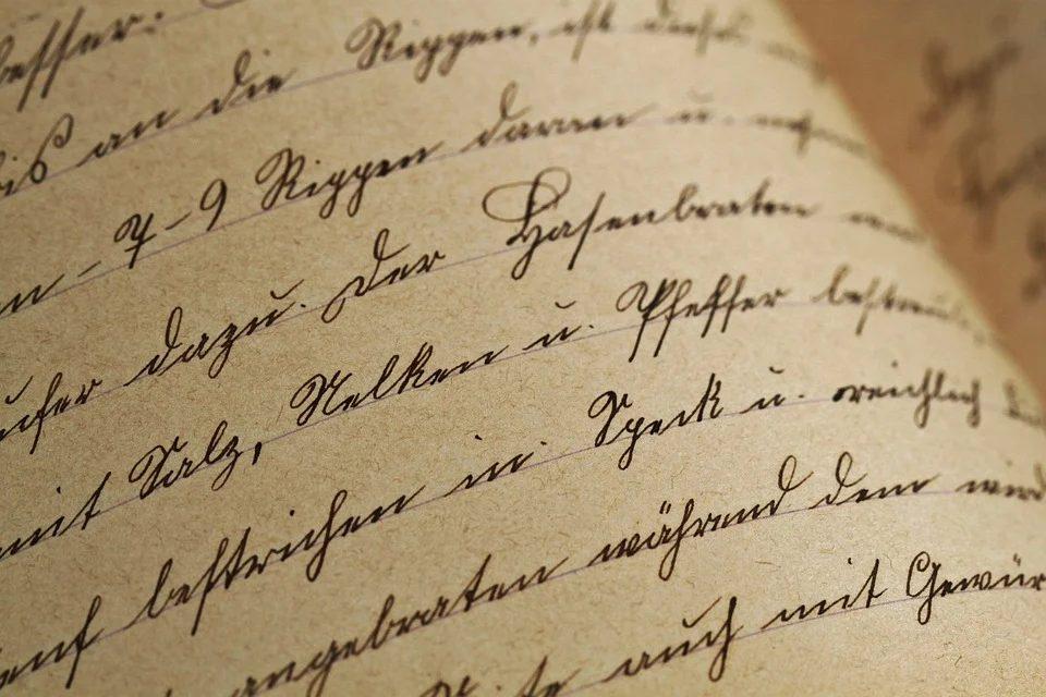 livre ancien manuscrit