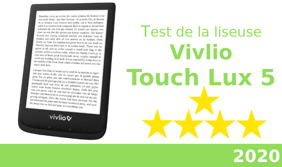 test vivlio touch lux 5