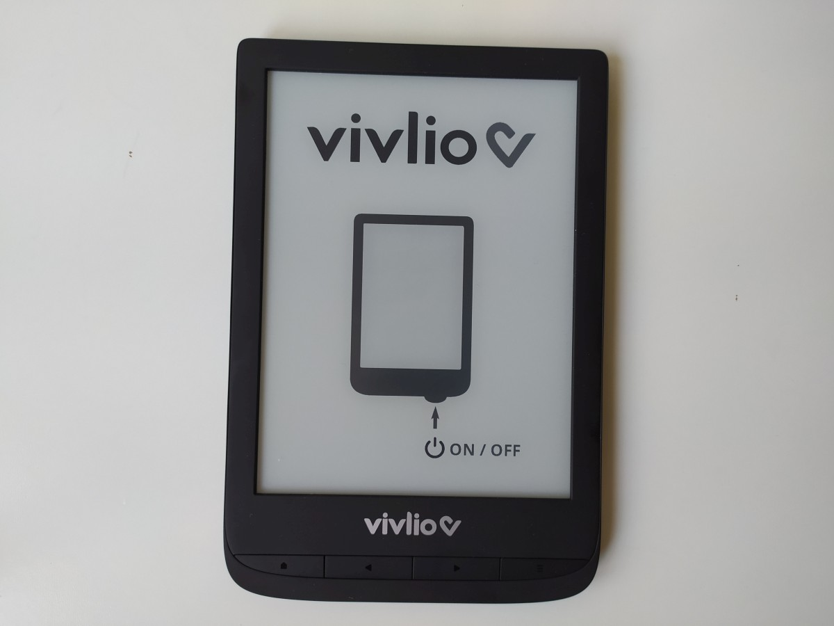 test liseuse vivlio touch lux 5