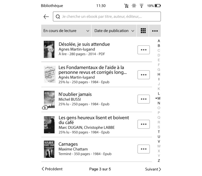 ebook bookeen diva bibliothèque
