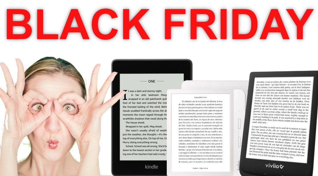 blak friday promotions liseuse kindle kobo