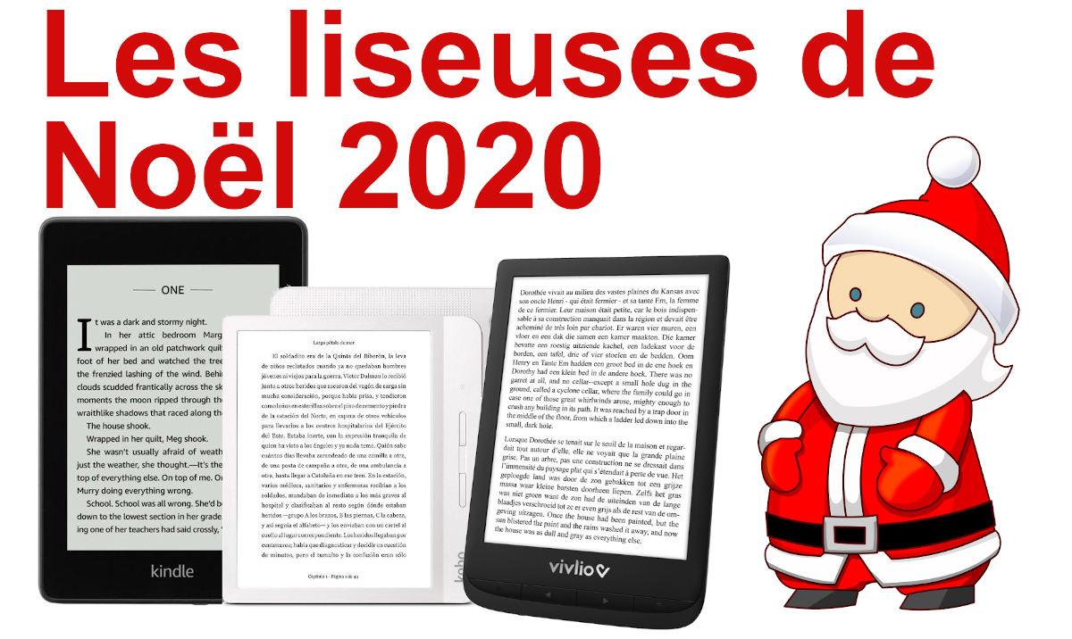 meilleure liseuse Noël 2020