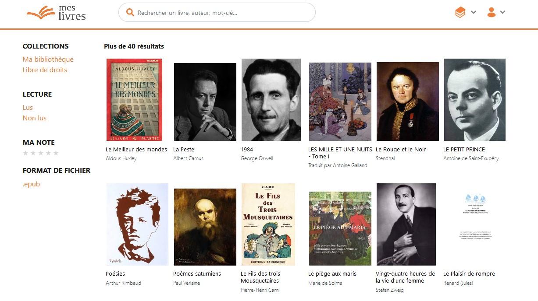 MesLivres Cloud livres gratuits