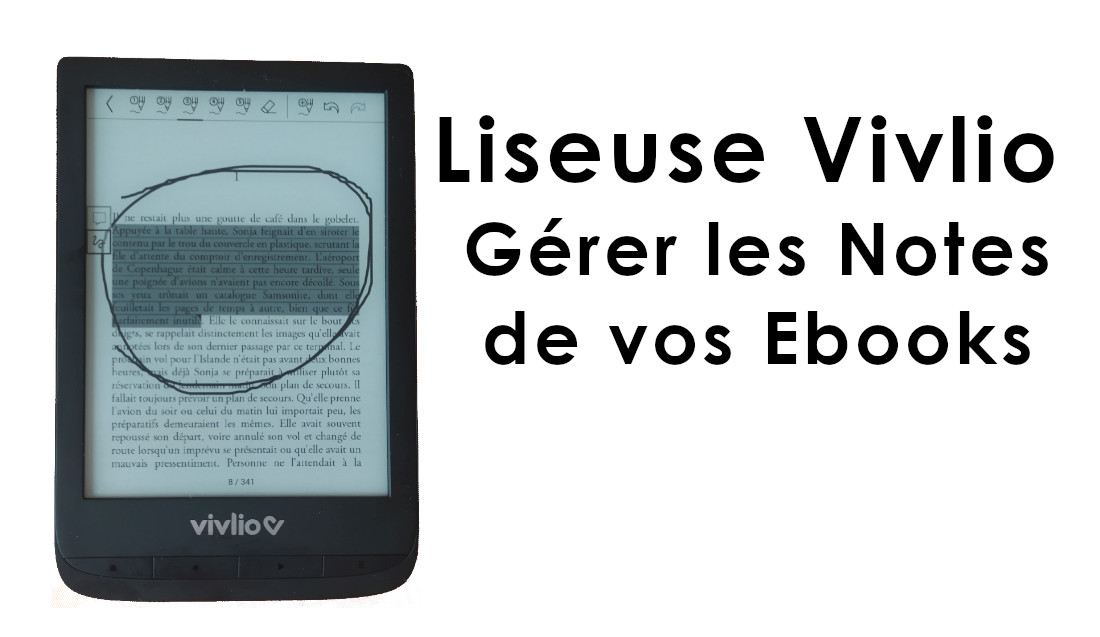 note ebook liseuse vivlio