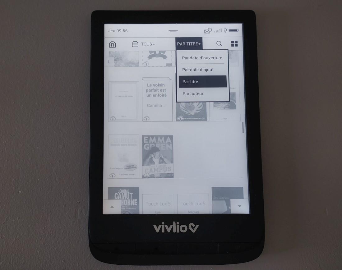 bibliothèque ebook vivlio