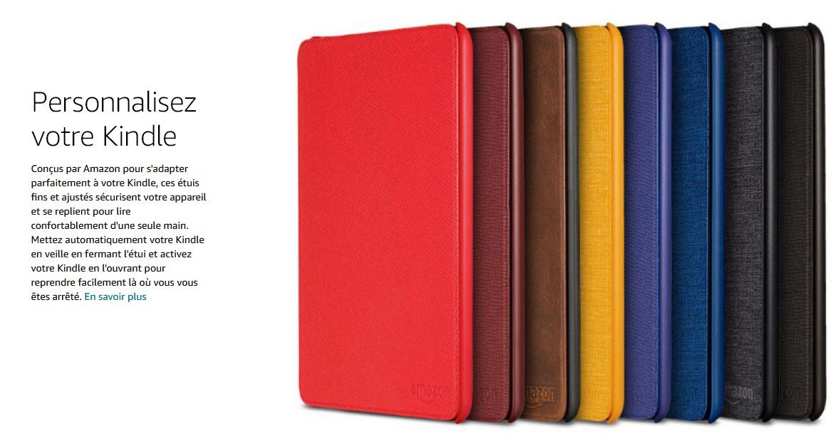 housse officielle Kindle