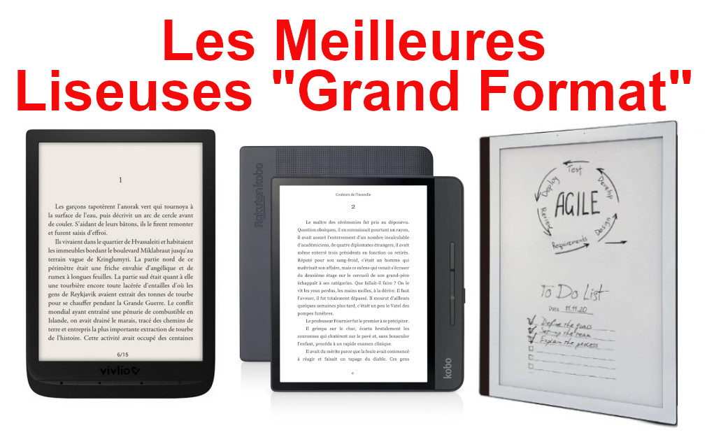 liseuse grand format
