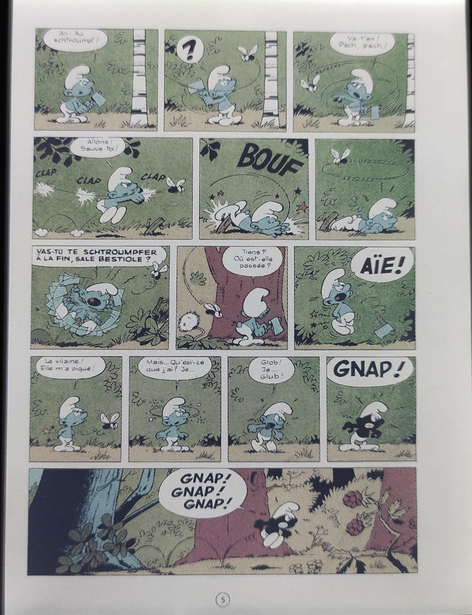 liseuse couleur vivlio color bande dessinée