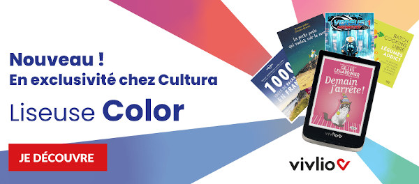 liseuse vivlio color chez cultura