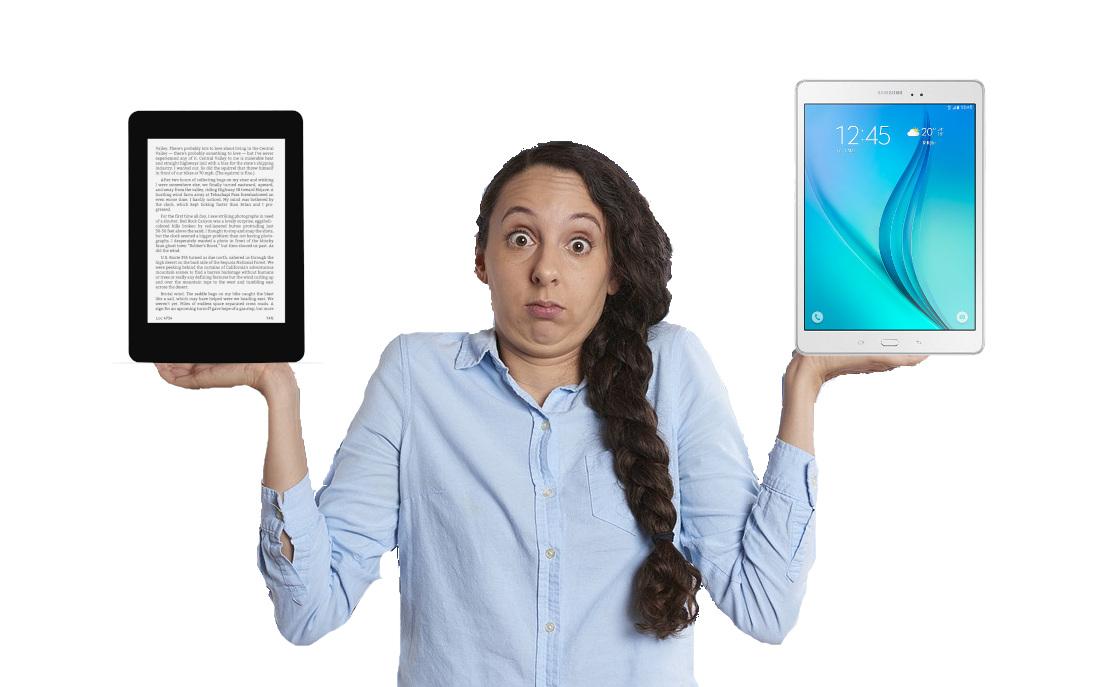 liseuse ou tablette