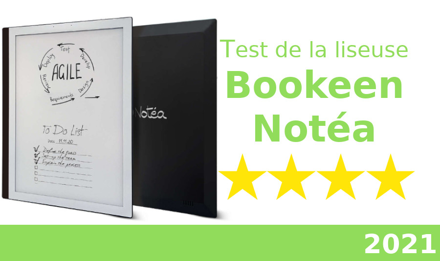 test liseuse Bookeen Notéa