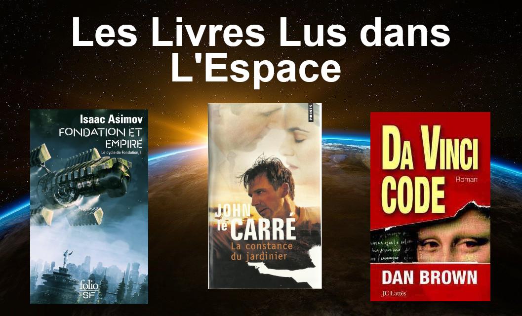 livres lus dans l'espace et l'ISS