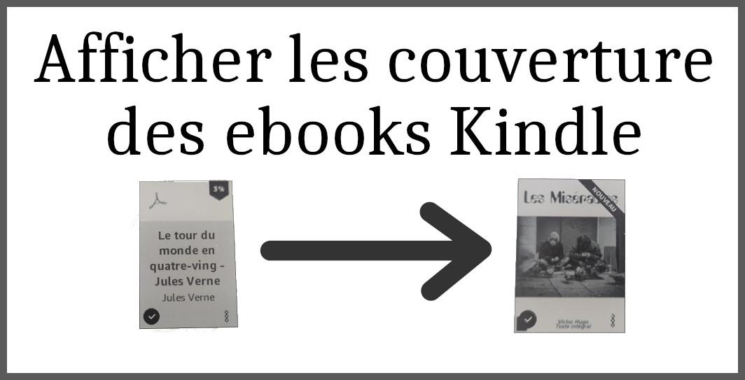 afficher la couverture d'un ebook epub sur liseuse kindle