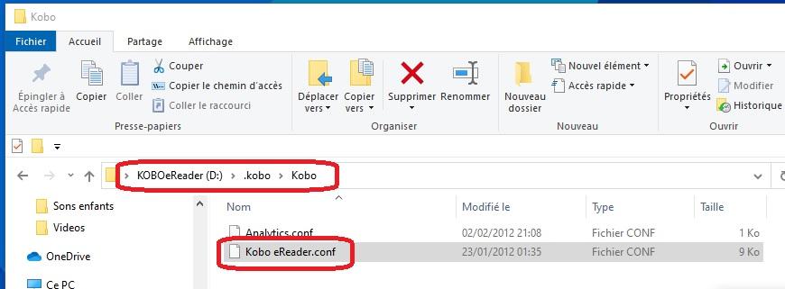 export notes kobo