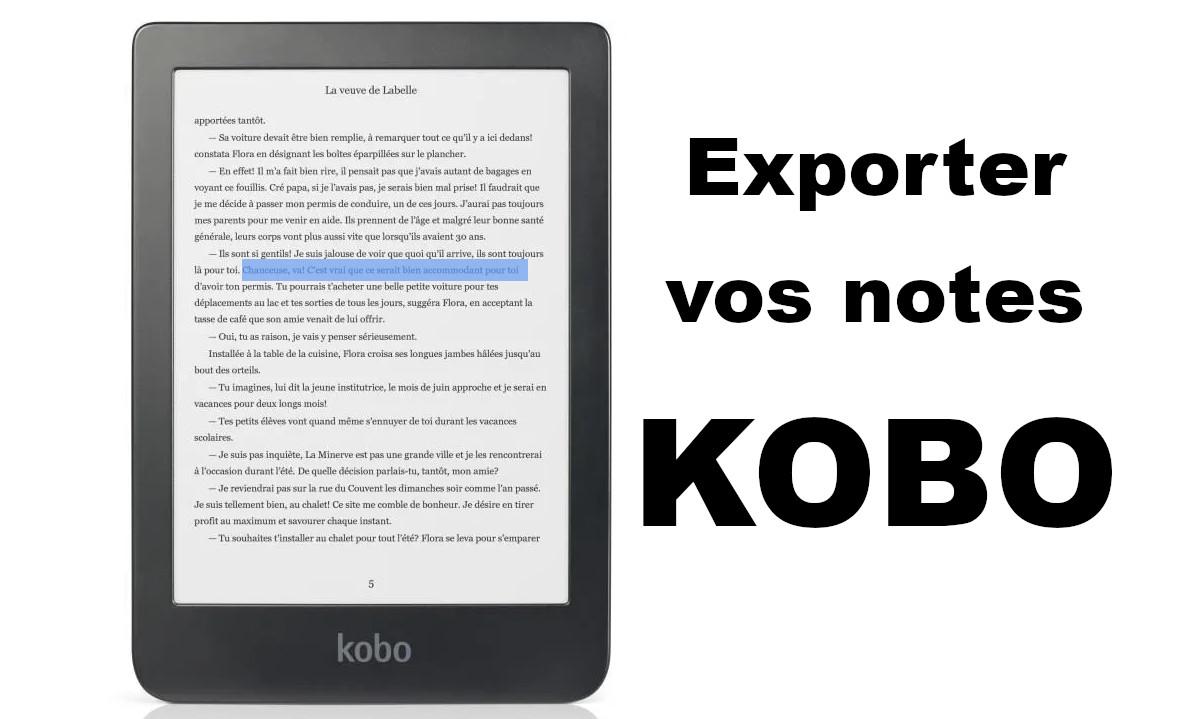 exporter notes Kobo