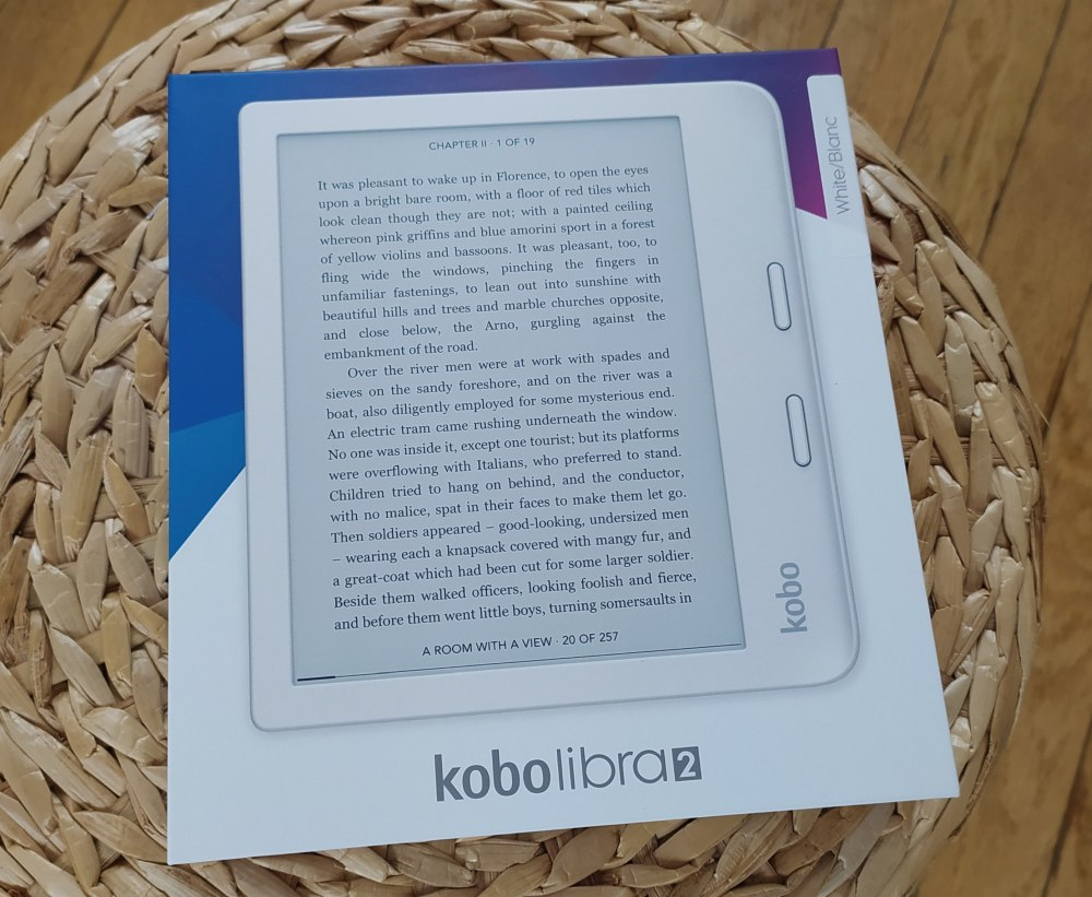 packaging kobo libra 2